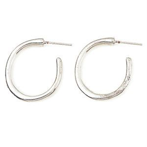 Picture of Silver Hoop Earrings